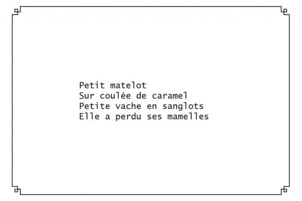 Quatrain – 06
